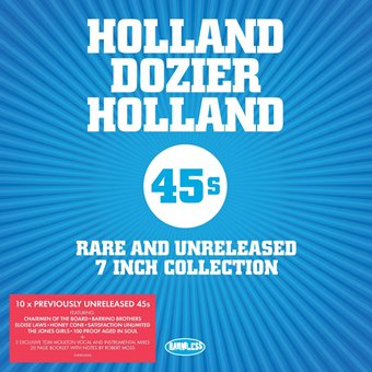 Holland Dozier Holland – Rare 45s Vinyl Box