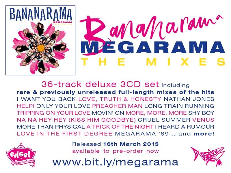 Bananarama Reissues – MEGARAMA