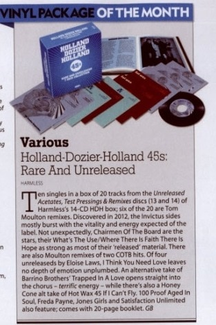 Holland Dozier Holland 45s – Vinyl Package Of The Month!