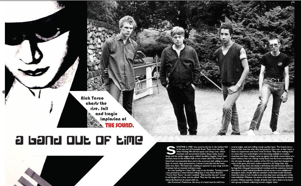 The Sound 6 page feature in Vive Le Rock!