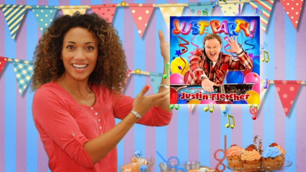 The Justin Fletcher TV Advert for 'Just Party!'