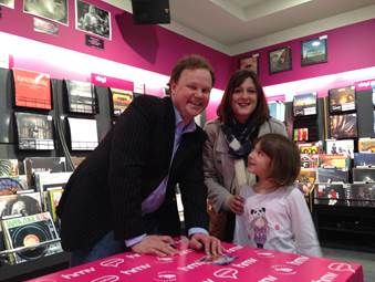 Justin Fletcher at HMV