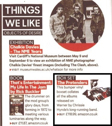 Pretenders Vinyl – NME's 'Object Of Desire'