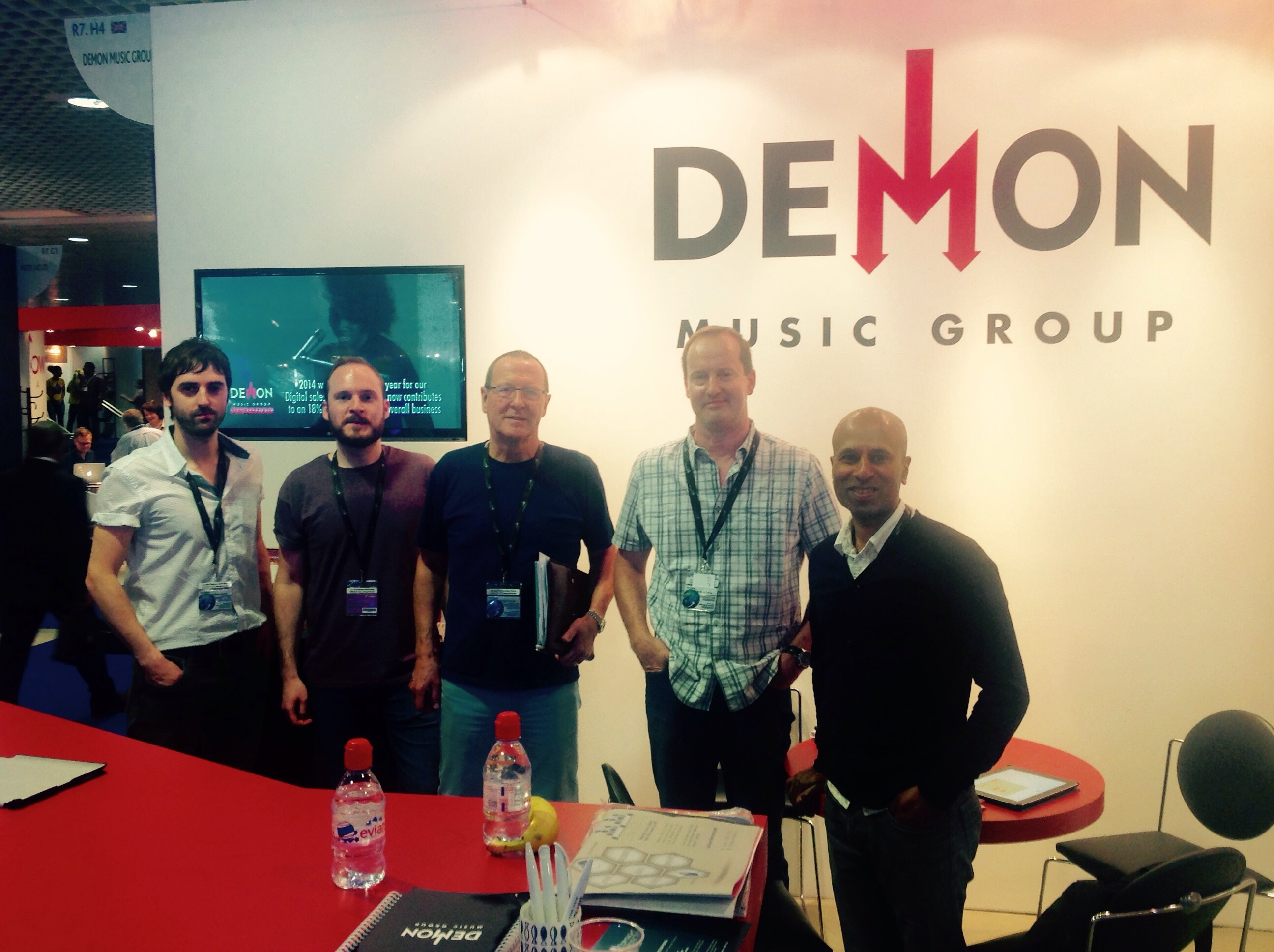 Team Demon at MIDEM