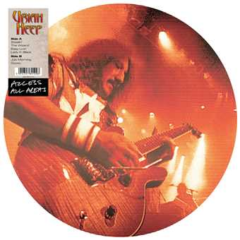 Access All Areas – Uriah Heep (Vinyl Picture Disc)