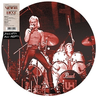 Access All Areas – Uriah Heep: Live In Moscow (Vinyl Picture Disc)
