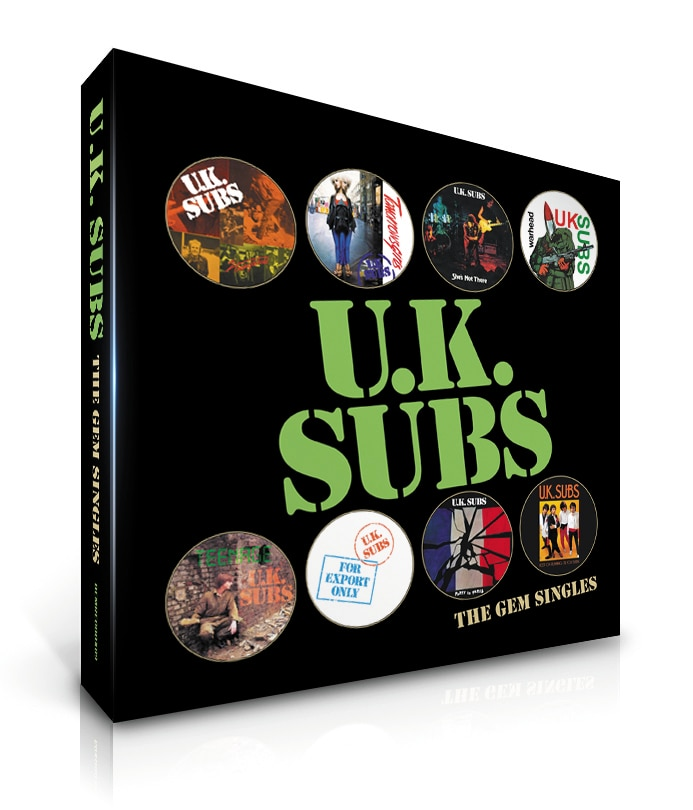 Countdown to #RSD16 – U.K Subs: The GEM Singles Box