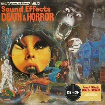 BBC Sound Effects: Death & Horror (Vinyl)