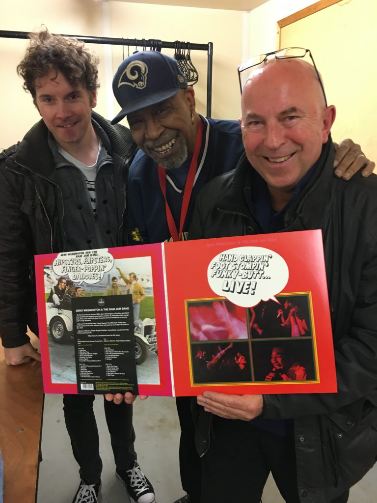 Geno Washington with the coming soon 2LP!