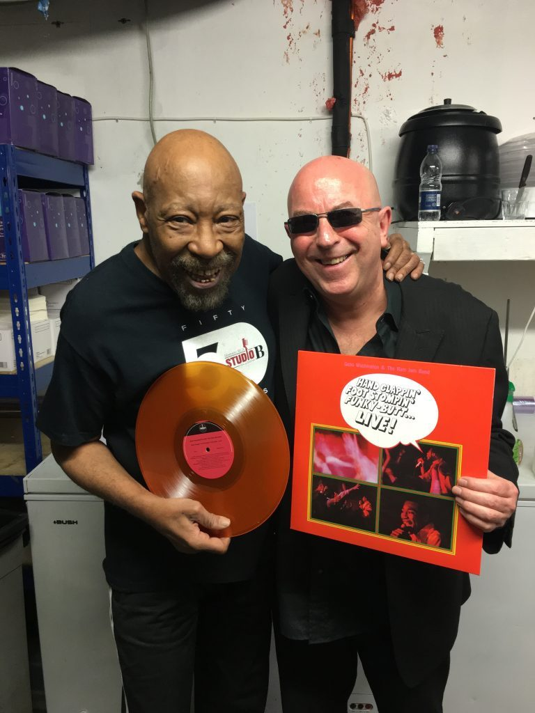 Geno Washington Exclusive Orange Vinyl