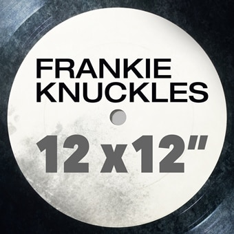 "Frankie Knuckles: 12"" x 12"" (Digital)"