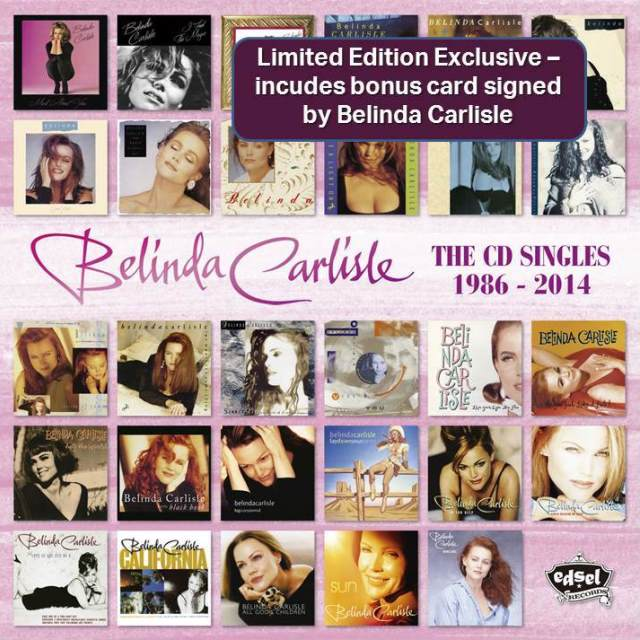 Belinda Carlisle: The CD Singles 1986 – 2014 (Limited Edition Exclusive)