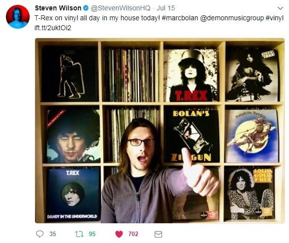 Steve Wilson is a T.Rex fan!