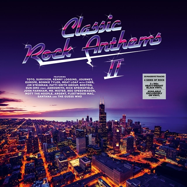 Classic Rock Anthems 2 (Vinyl)
