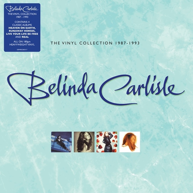 Belinda Carlisle: The Vinyl Collection 1987 – 1993