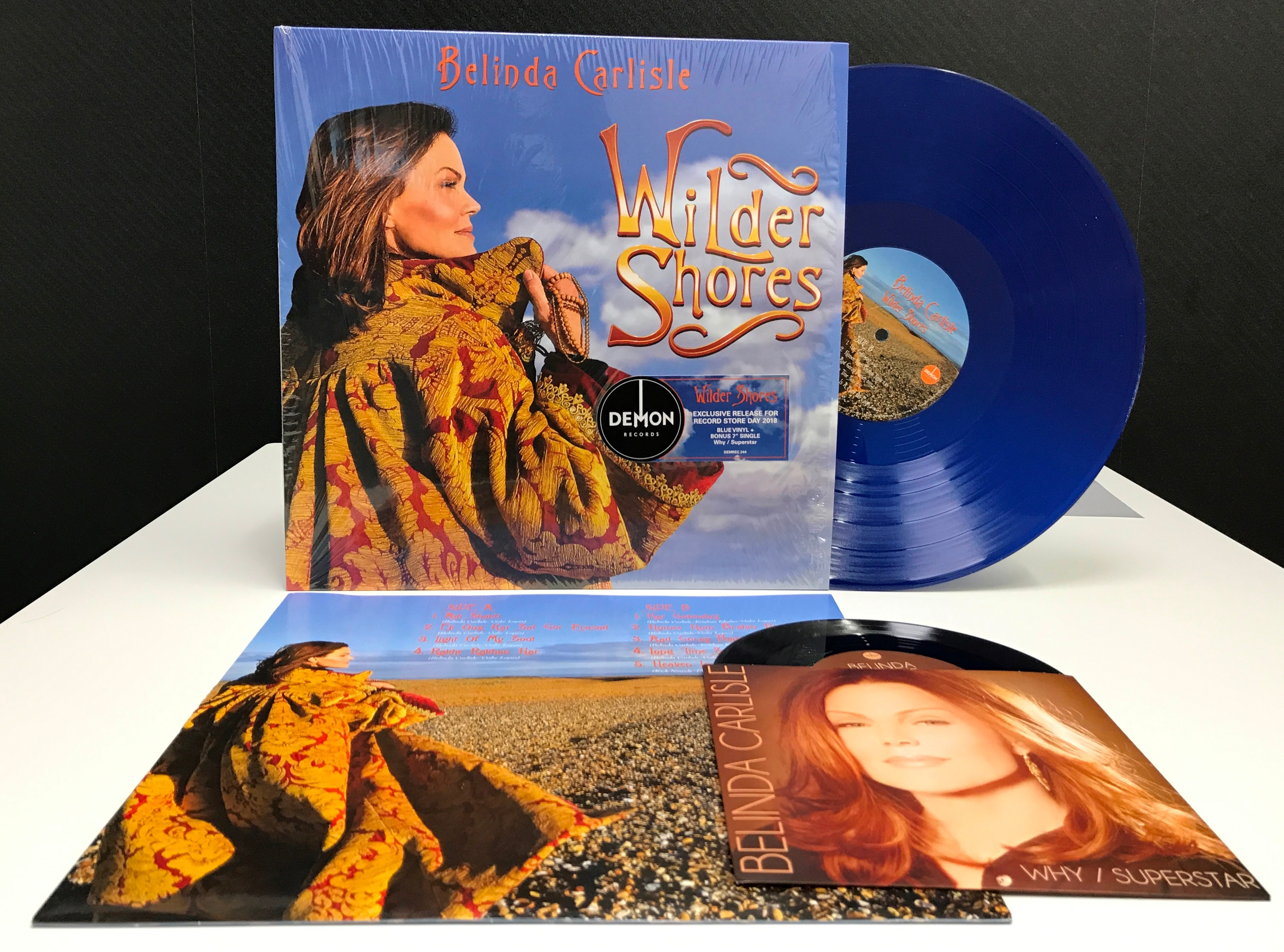 Image result for Belindaâs new album Wilder Shores