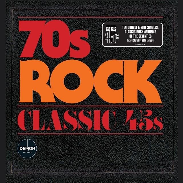 Classic 45s: 70s Rock (Vinyl – RSD 2017)