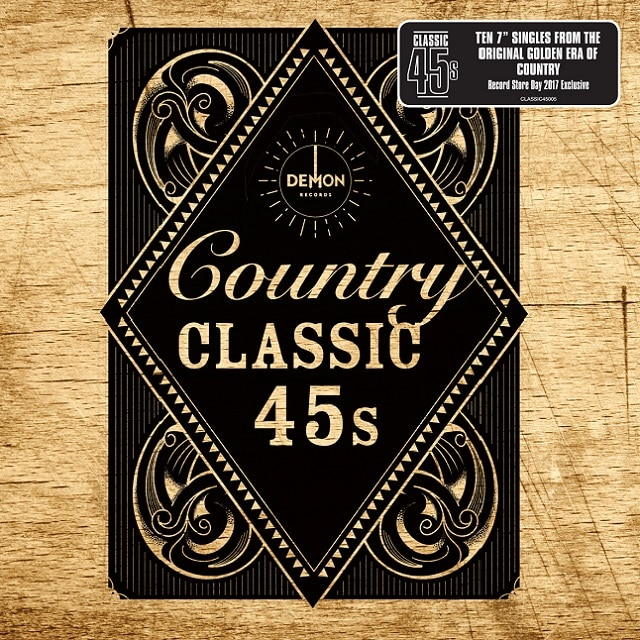 Classic 45s: Country (Vinyl RSD 2017)