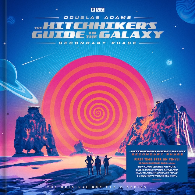 The Hitchhiker's Guide To The Galaxy – Secondary Phase (Orange Vinyl)