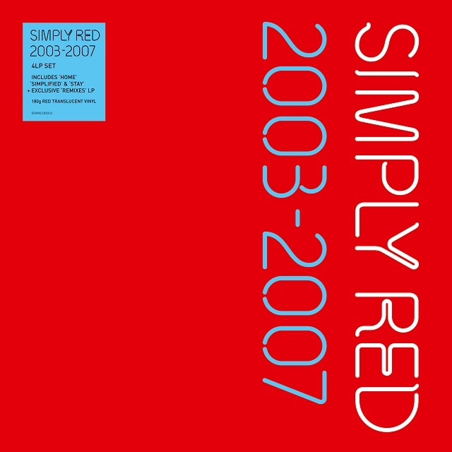 Simply Red: 2003-2007 (Red Vinyl)