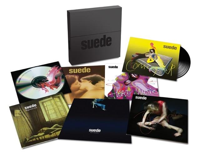 Suede Studio Albums 93 16 Vinyl Demon Music Group