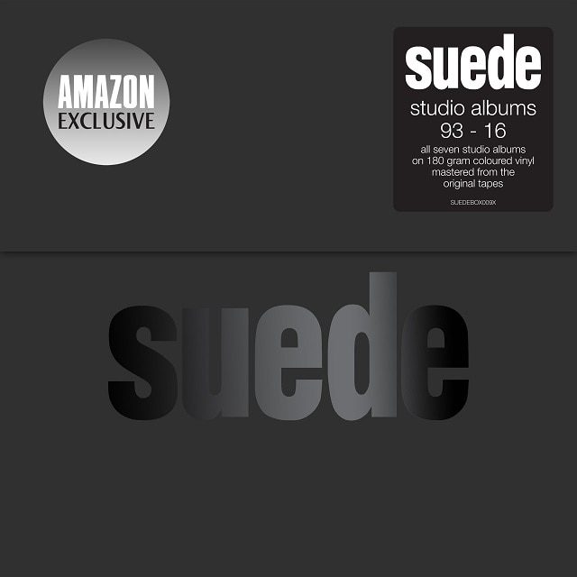 Suede: Studio Albums 93 – 16 (Amazon Coloured Vinyl Exclusive) SOLD OUT
