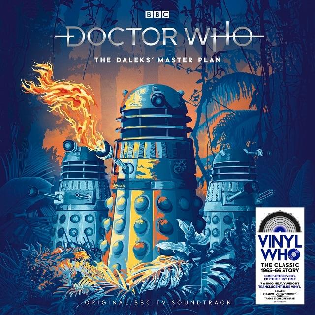 Doctor Who – The Dalek's Master Plan (Translucent Blue Vinyl)