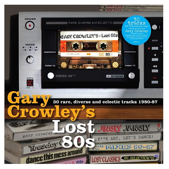 Gary Crowley's Lost 80s (Coloured Vinyl)