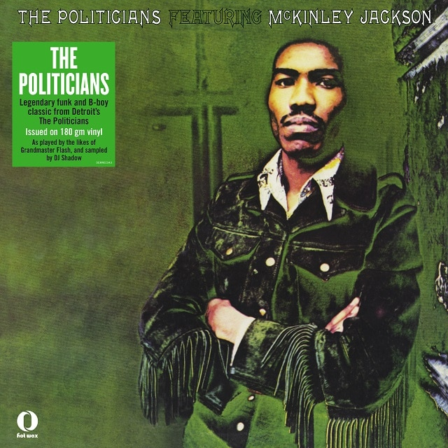 The Politicians Featuring Mckinley Jackson (Vinyl)