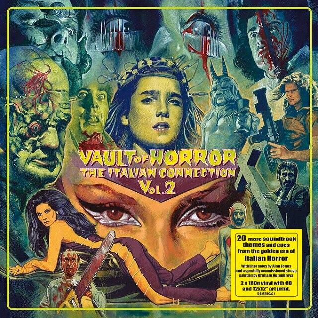 Vault Of Horror: The Italian Connection Vol.2 (Vinyl)