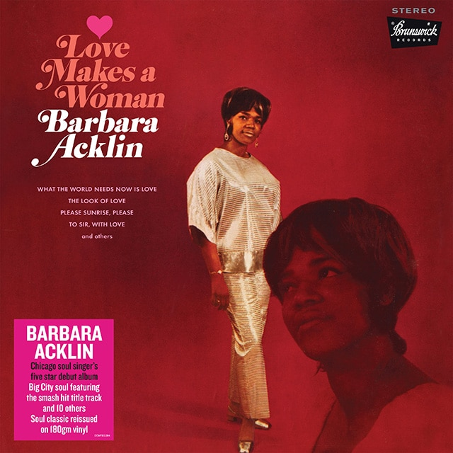 Barbara Acklin: Love Makes A Woman (Vinyl)