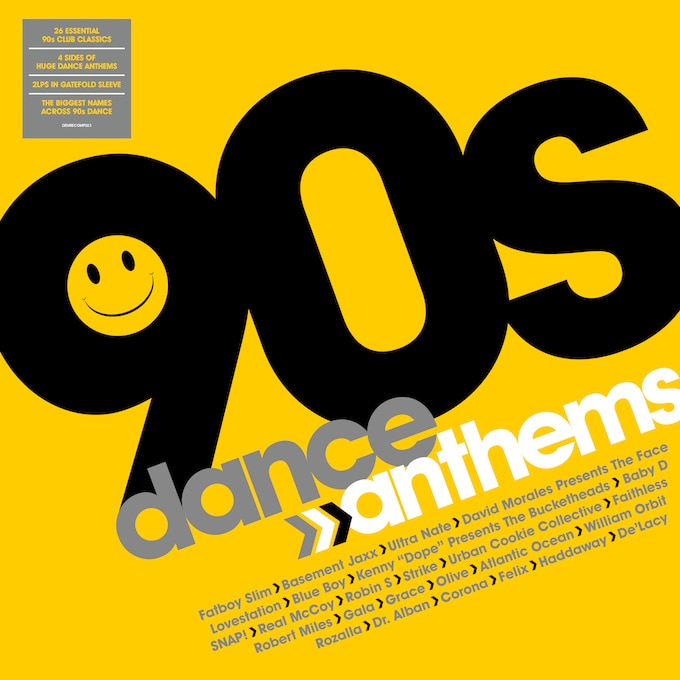 90s Dance Anthems (Vinyl)