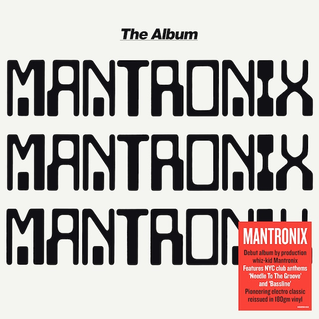 Mantronix – The Album (Vinyl)