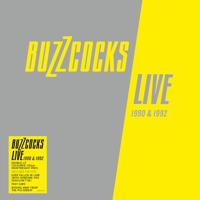 Buzzcocks – Live 1990 & 1992 (Grey Coloured Vinyl)