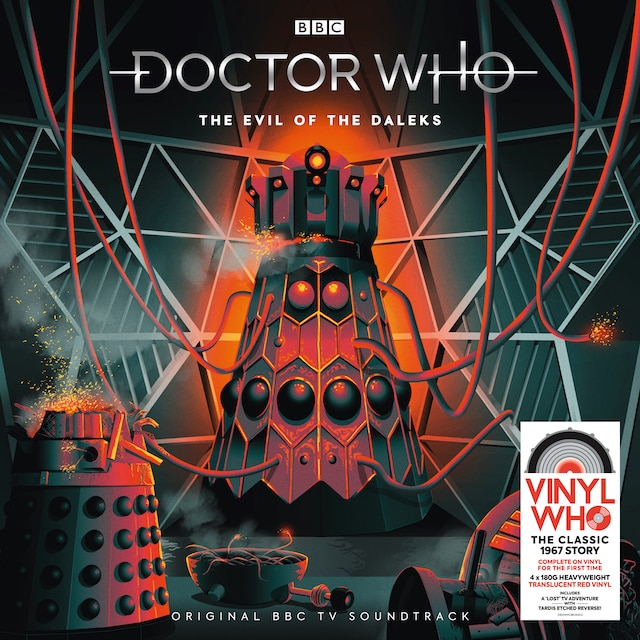 Doctor Who – The Evil Of The Daleks (Translucent Red Vinyl)
