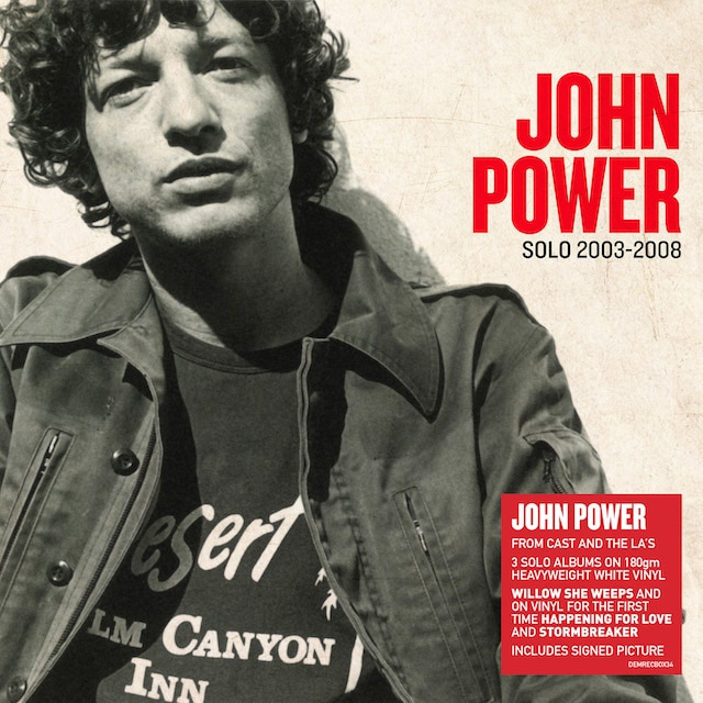 John Power: Solo 2003-2008 (White Vinyl)