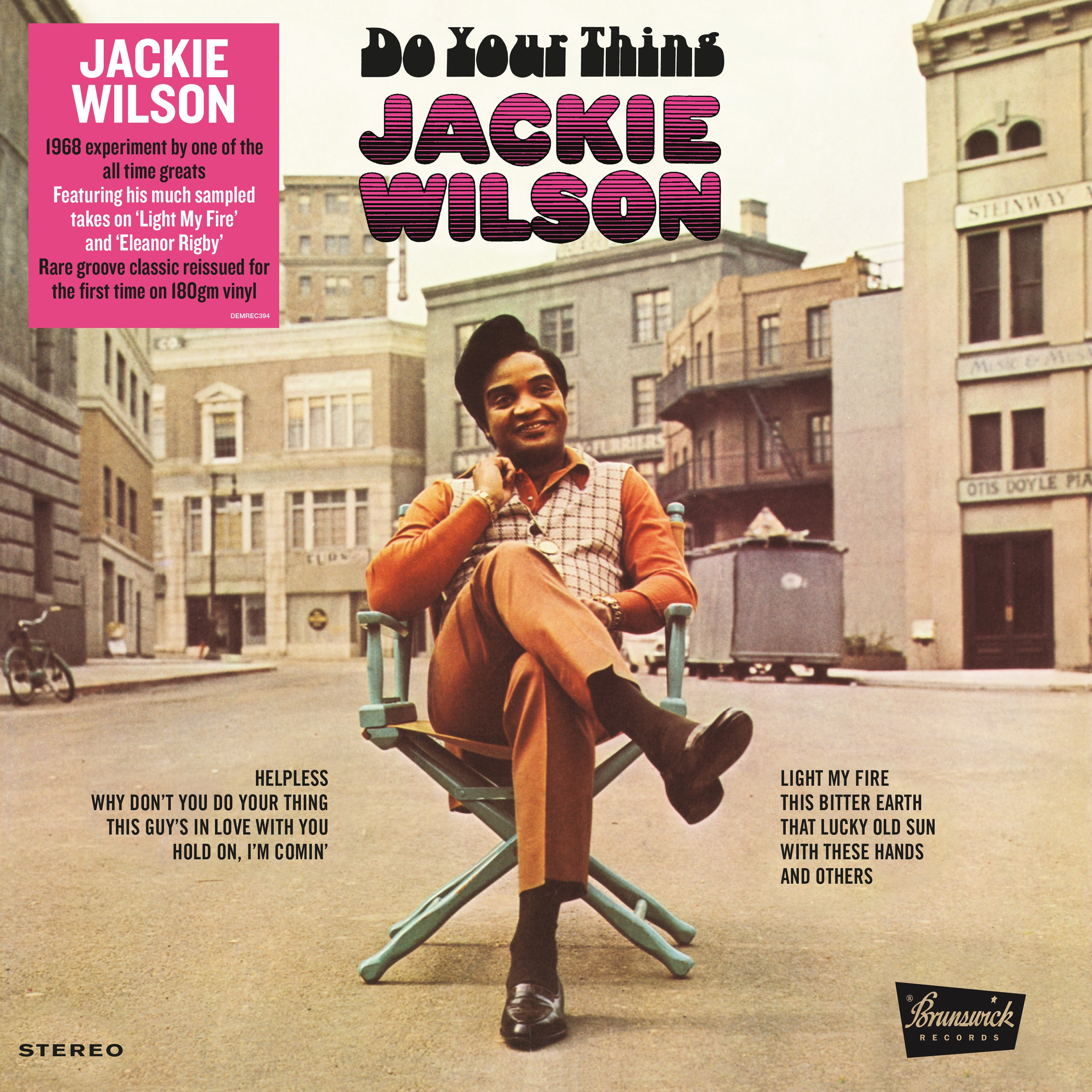 Jackie Wilson: Do Your Thing (Vinyl)