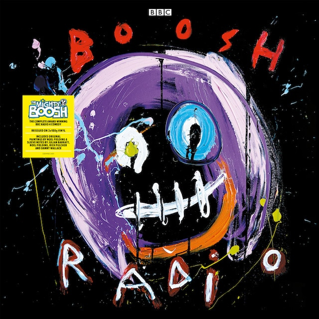 The Mighty Boosh Complete Radio Series (Black Vinyl)