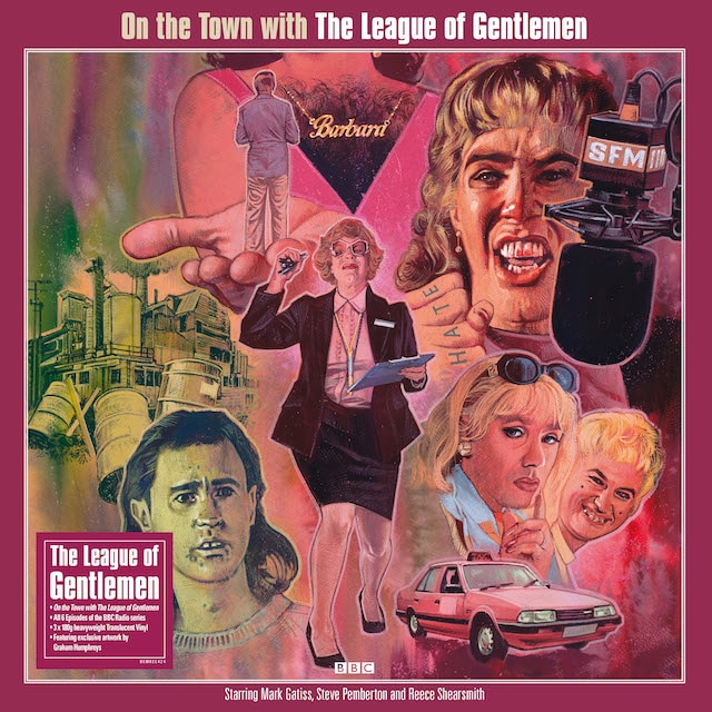 On The Town With The League Of Gentlemen (Translucent Vinyl)