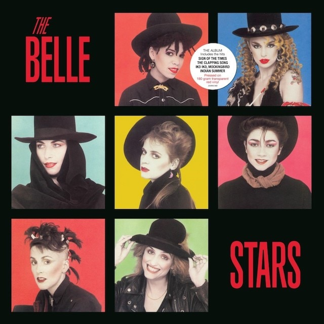 The Belle Stars (Transparent Red Vinyl)