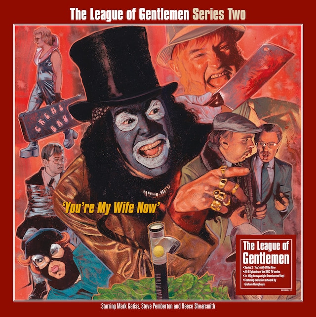 The League Of  Gentlemen: Series Two (Translucent Vinyl)