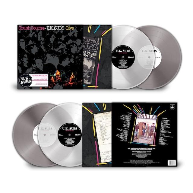 Crash Course Live 10 Coloured Vinyl Demon Music Group
