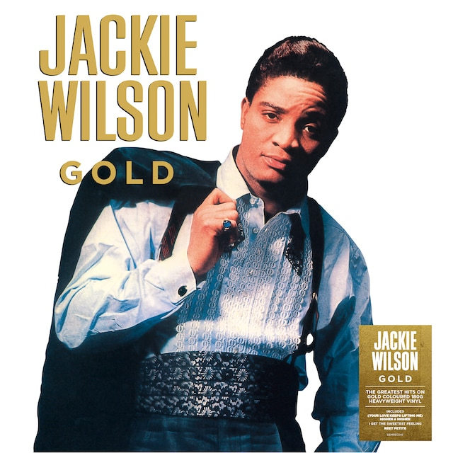 Jackie Wilson – Gold (Gold Coloured Vinyl)