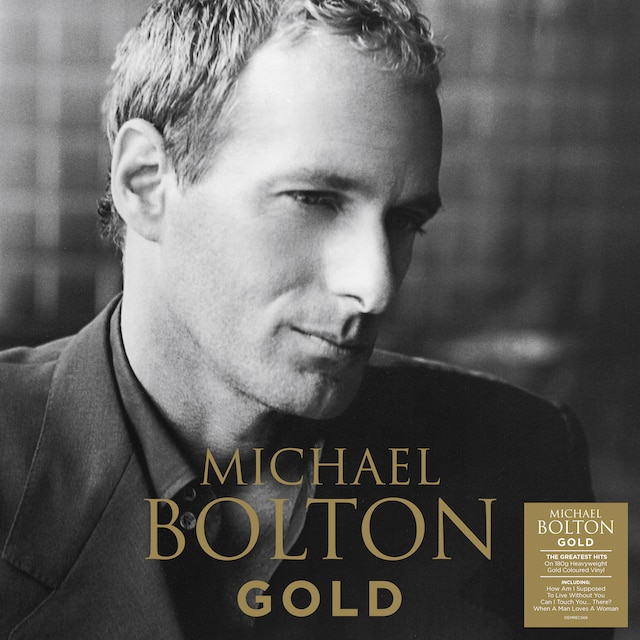 Michael Bolton – Gold (Gold Coloured Vinyl)