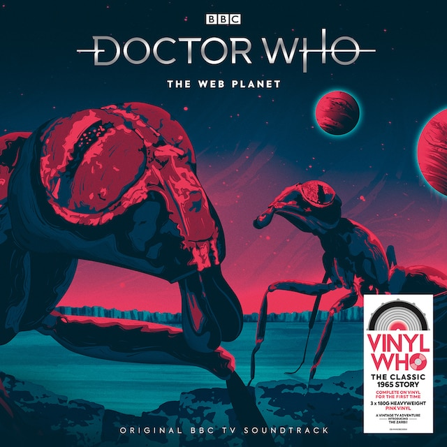 Doctor Who – The Web Planet (Pink Vinyl)