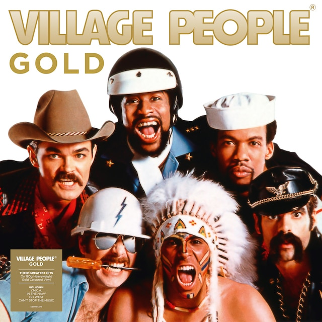 Village People – Gold (Gold Coloured Vinyl)
