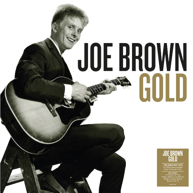 Joe Brown – Gold (Gold Coloured Vinyl)