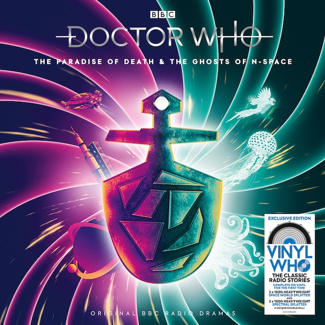 Doctor Who: The Paradise Of Death & The Ghosts Of N-Space (Amazon Exclusive)