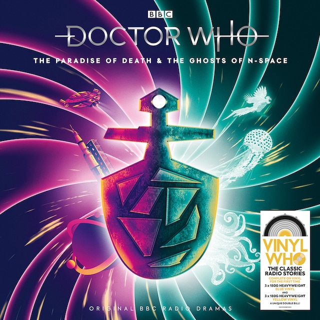 Doctor Who: The Paradise Of Death & The Ghosts Of N-Space (Blue & Yellow Vinyl)