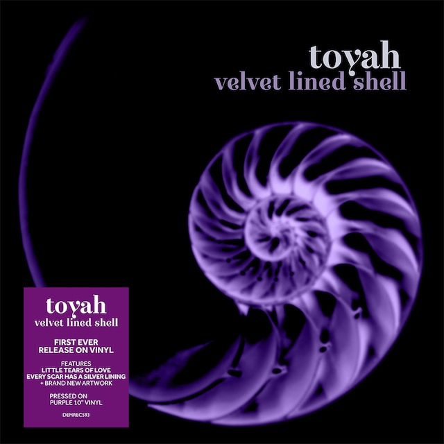 Velvet Lined Shell (Purple Vinyl 10″)